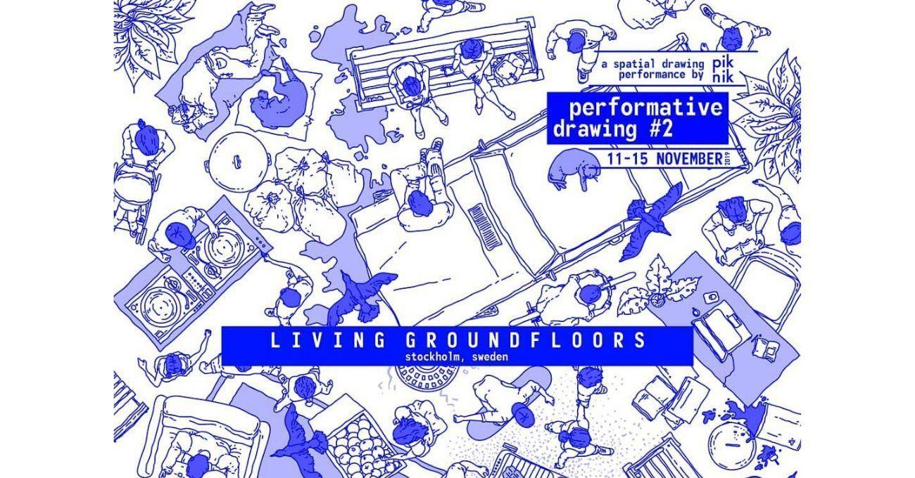 """Piknik Works """"Performatif Çizim #2"""" İçin Stockholm'e Gidiyor"""