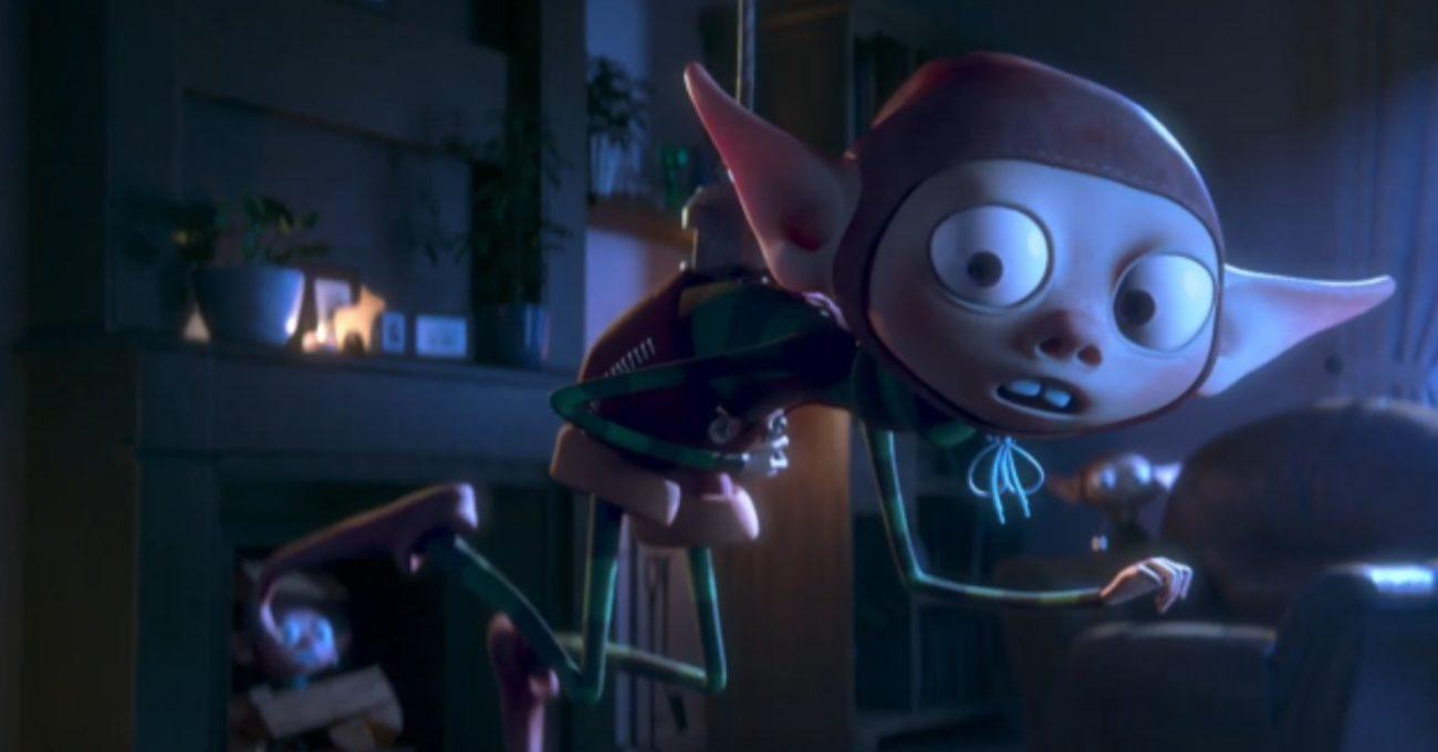 Elflerden Yeni Doğmuş Bebekli Aileye Noel Sürprizi