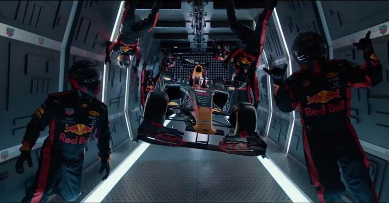 Red Bull Racing'den Sıfır Yer Çekiminde Pit Stop