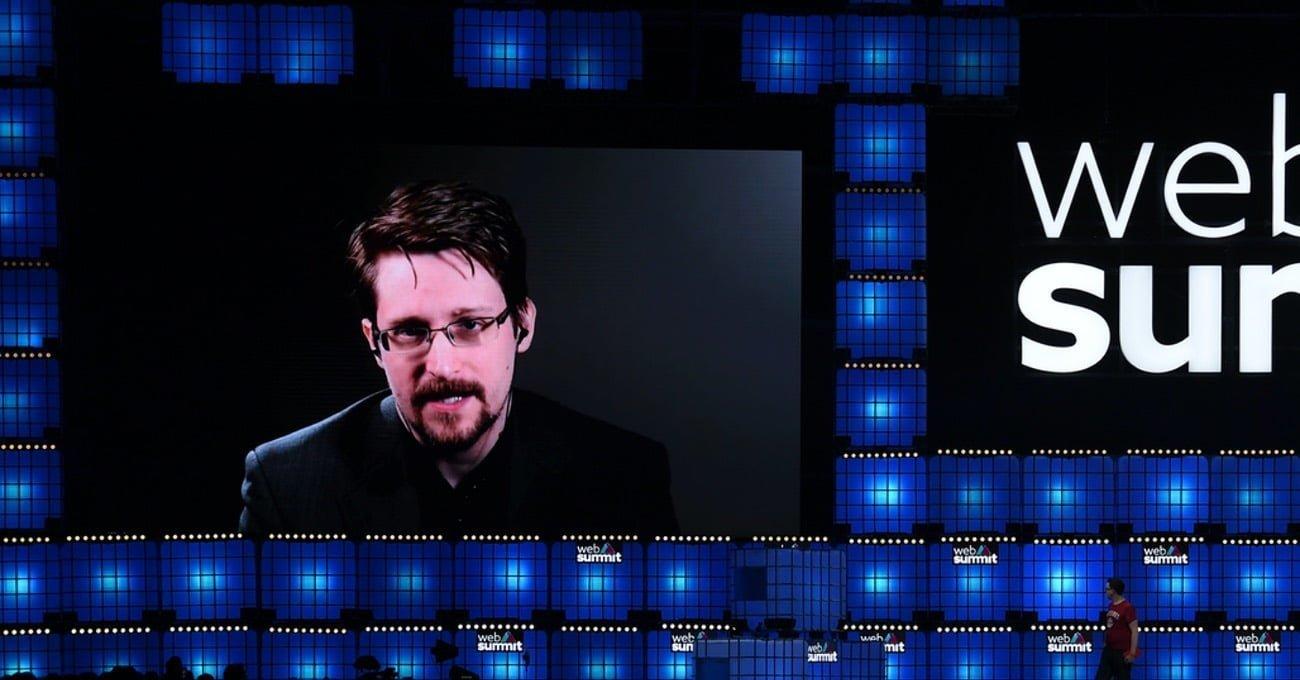 Edward Snowden Toplum, Devlet ve Gizlilik İlişkisini Değerlendirdi [Web Summit 2019]
