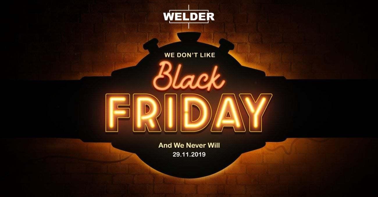 Welder Watch'un Black Friday Tavrı