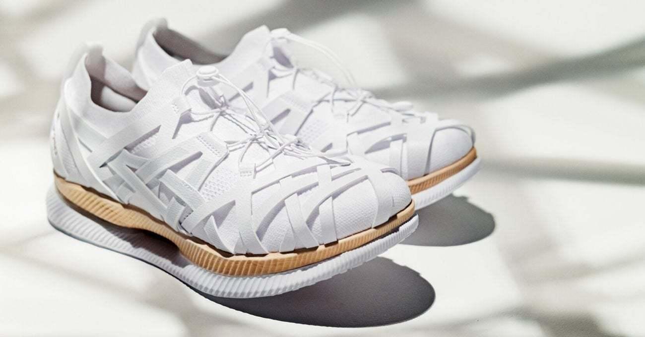 Kengo Kuma ASICS için Ayakkabı Tasarladı
