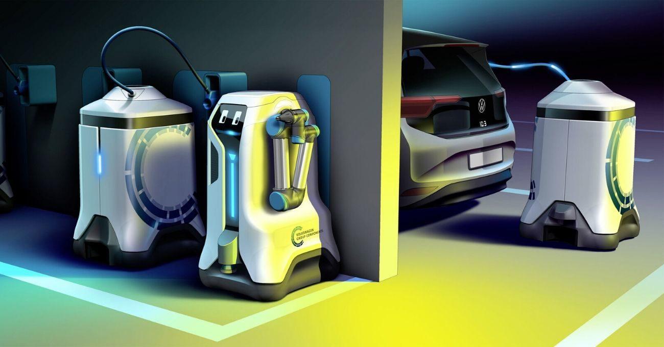 Volkswagen Elektrikli Otomobilleri Şarj Eden Otonom Robot Geliştirdi