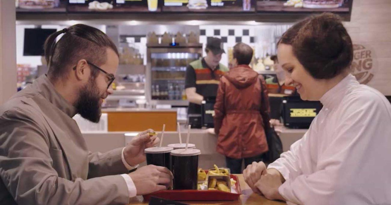 Burger King'ten Star Wars Hayranlarına Spoiler Bombardımanı