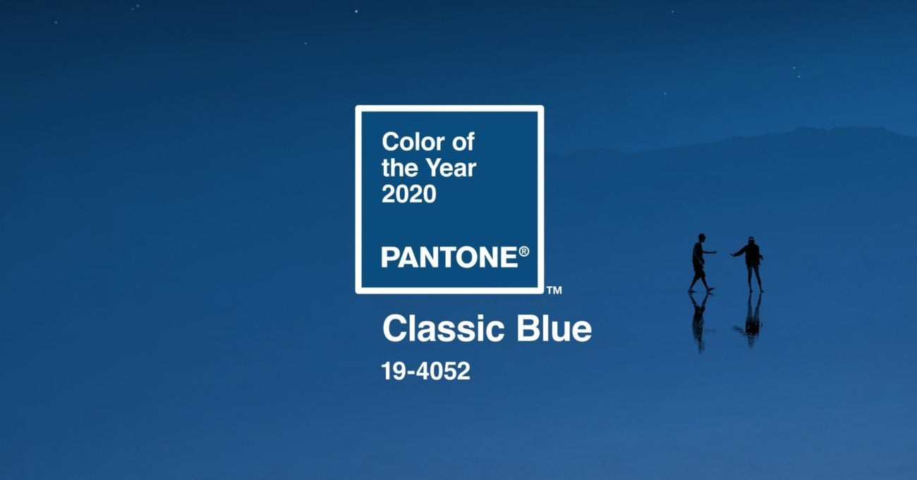 Pantone 2020'nin Rengini Belirledi: Classic Blue