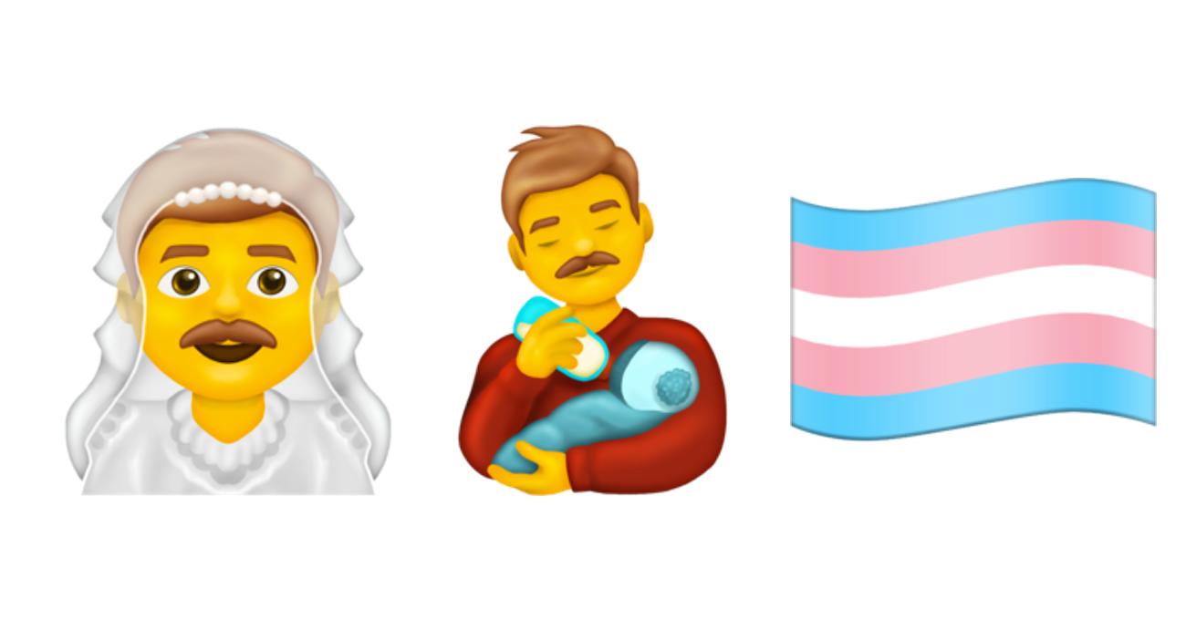 Erkek Gelin ve Trans Bayrağı Emojileri Dahil 117 Yeni Emoji Geliyor