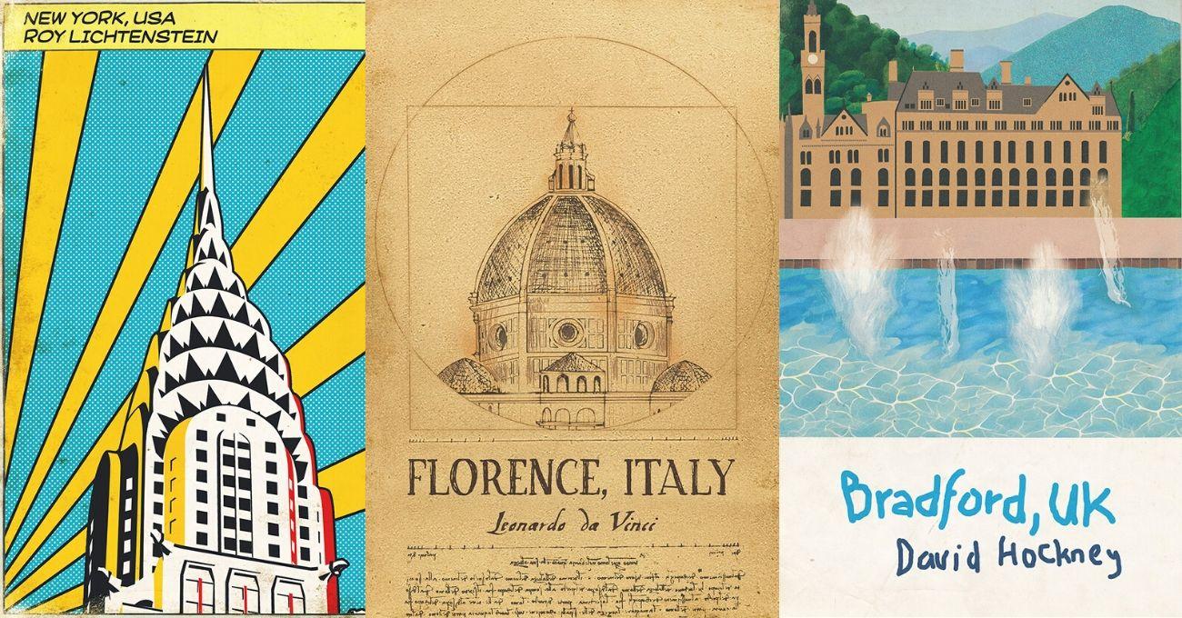 Ünlü Sanatçılar Doğdukları Yerler İçin Seyahat Posterleri Tasarlasaydı