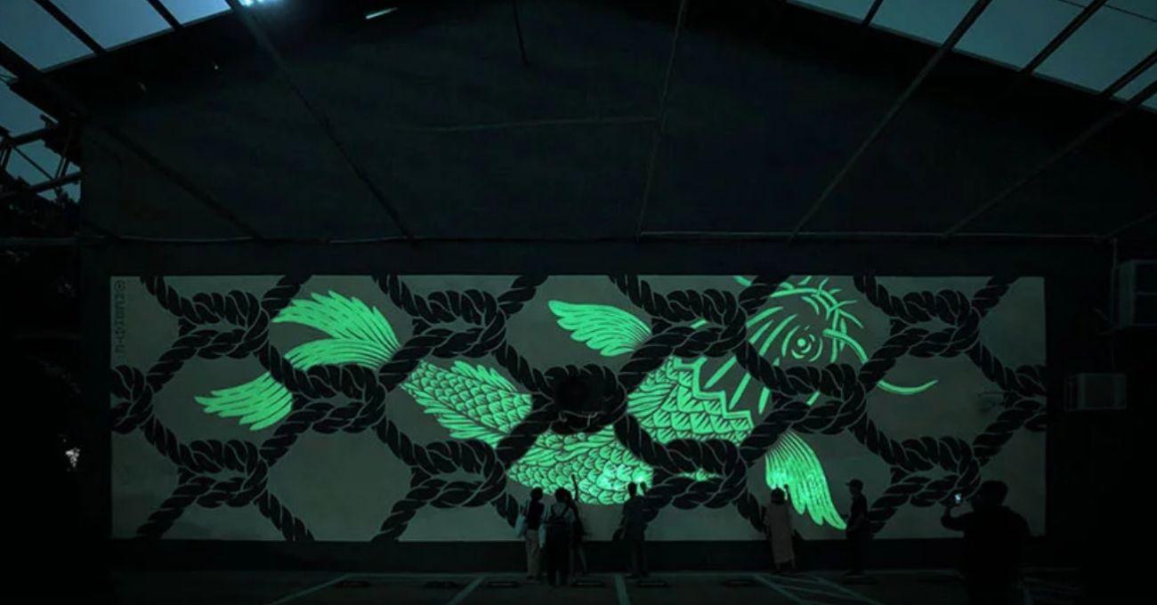 Karanlıkta Yeni Bir Parçası Görünür Olan Murallar