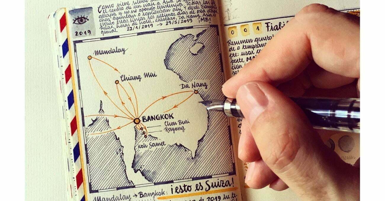 Her Sayfası Ayrı Bir Dünyaya Açılan Seyahat Günlükleri
