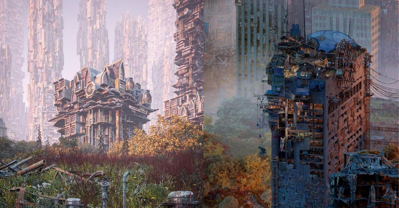 Distopik Kent Manzaraları