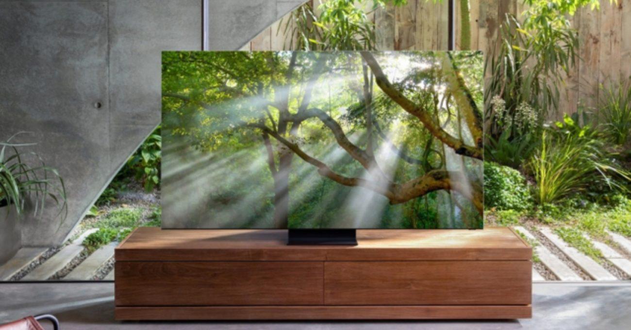 Samsung'tan Çerçevesiz 8K QLED Televizyon