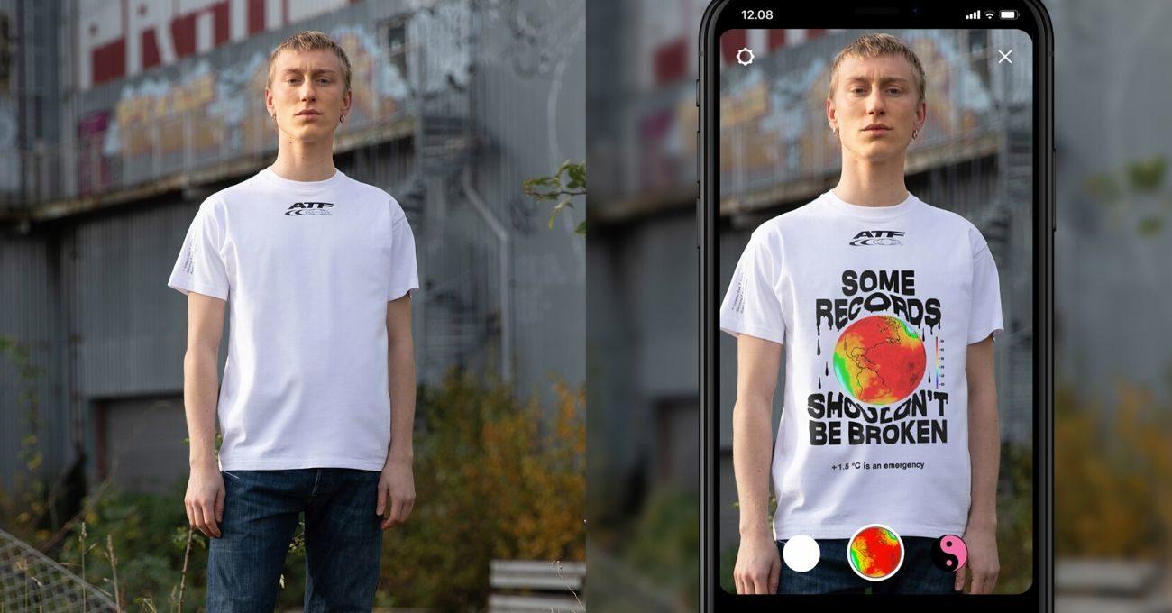 Artırılmış Gerçeklikte Güncellenebilen Boş Tişörtler