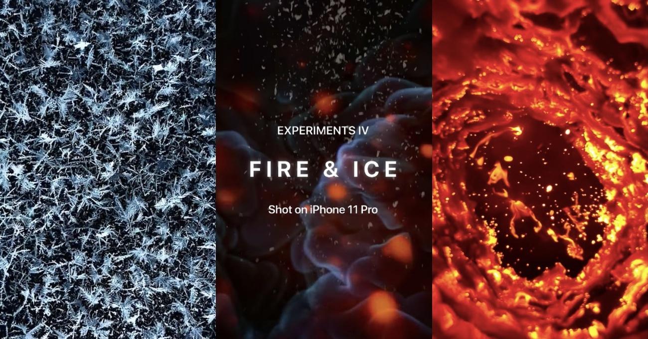 iPhone 11 Pro ile Ateşin ve Buzun Uç Noktalardaki Dansı
