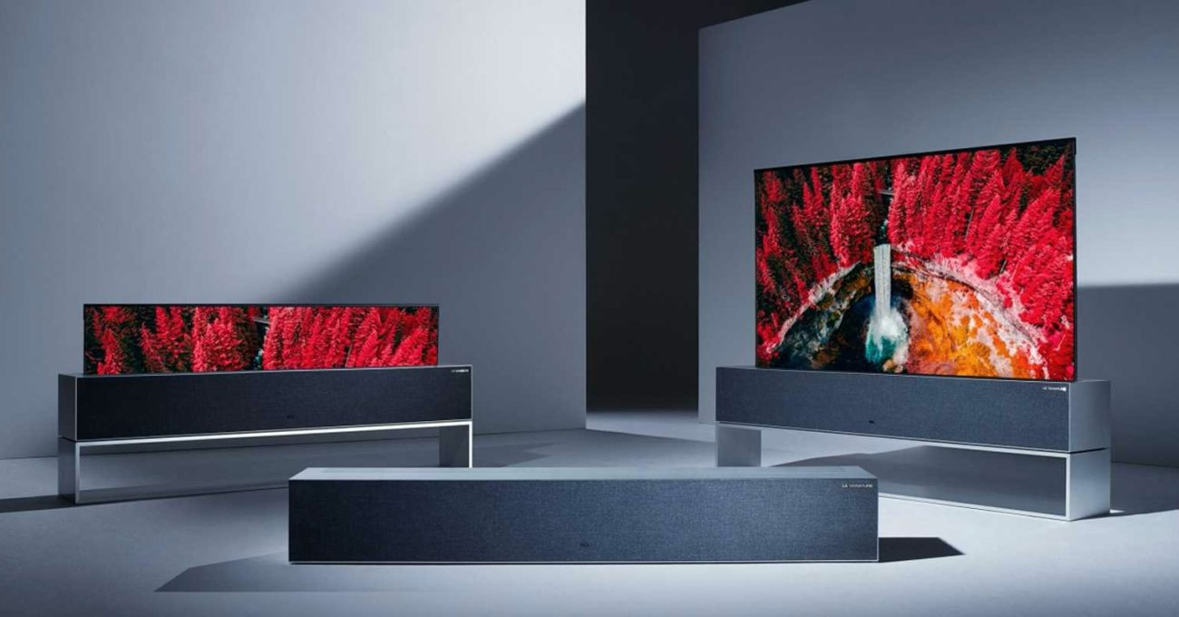 LG'nin Kıvrılan Televizyonu Yıl İçinde 60 Bin Dolara Piyasaya Çıkacak