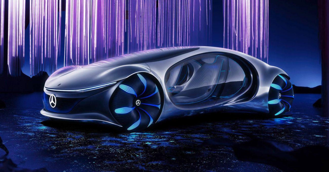 Mercedes-Benz'den Çağ Ötesi Konsept Otomobil: Vision AVTR