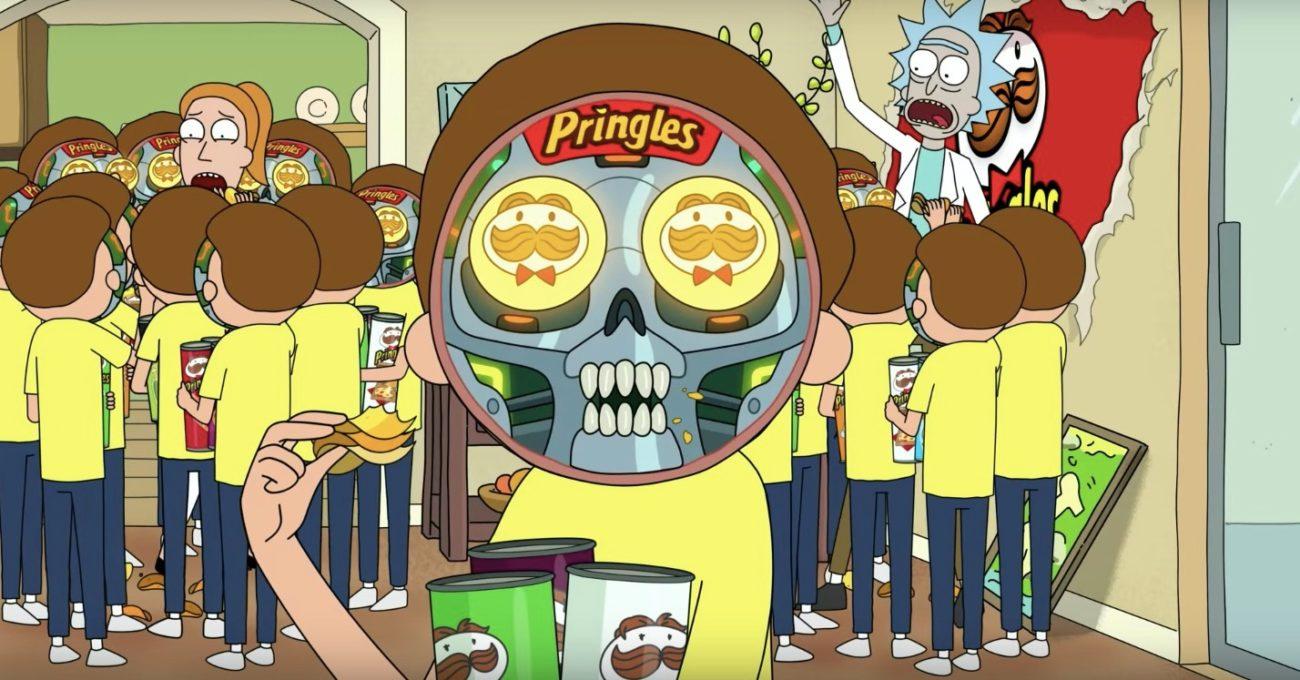 Robot Morty'nin Pringles Israrı