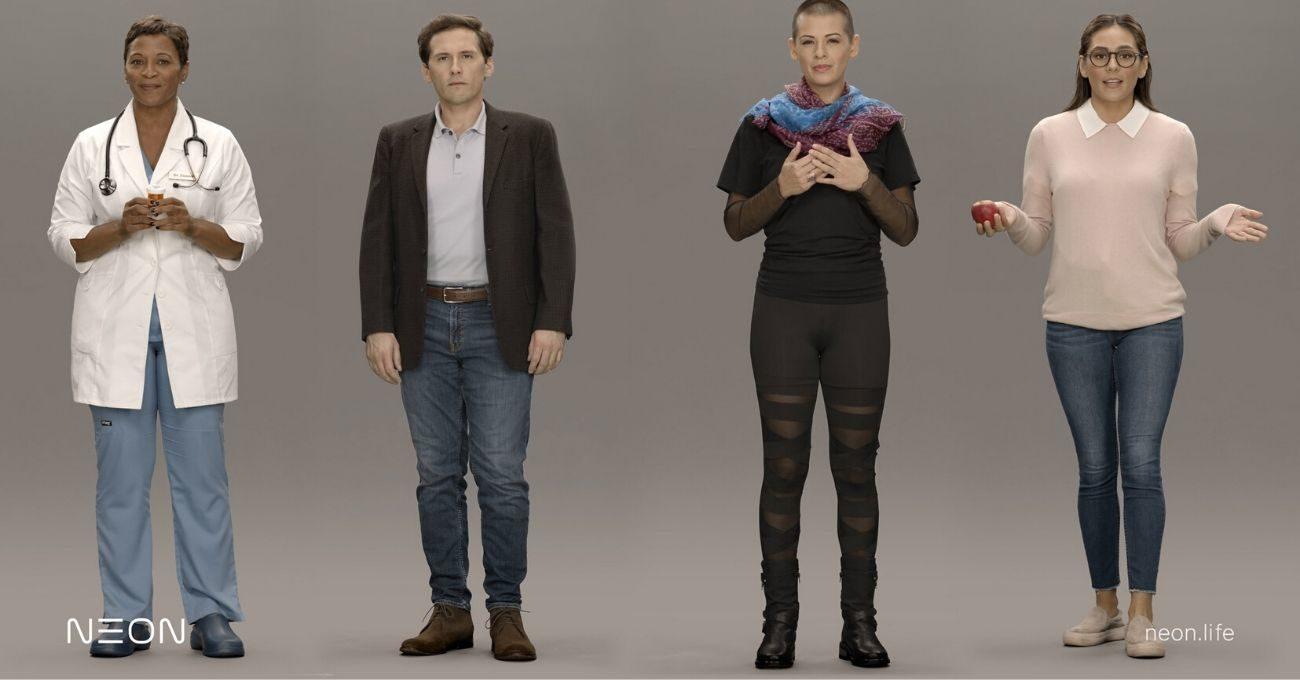 Samsung'dan Yapay Zekalı Sanal İnsanlar