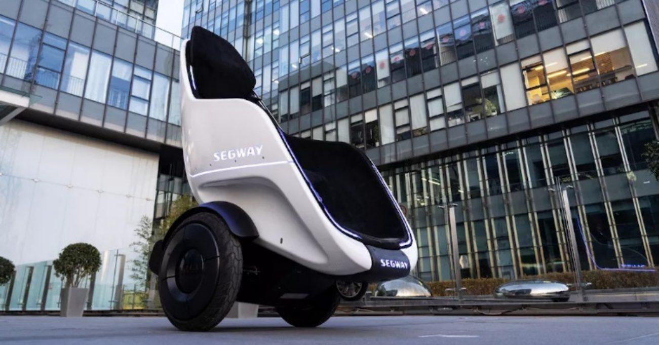 Segway'den İki Tekerlekli Elektrikli Koltuk: S-Pod