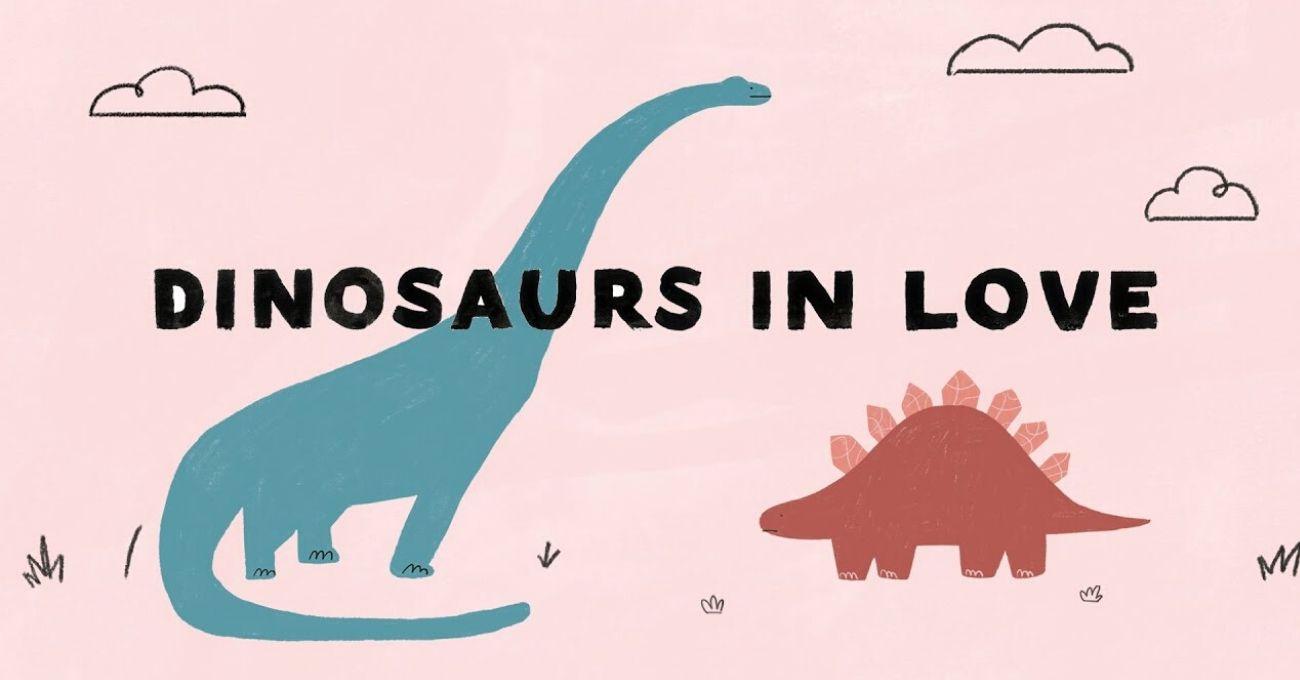 """""""Dinosaurs in Love"""" ve Sadece 24 Saatte Hazırlanan Videosu Herkesin Kalbini Çaldı"""