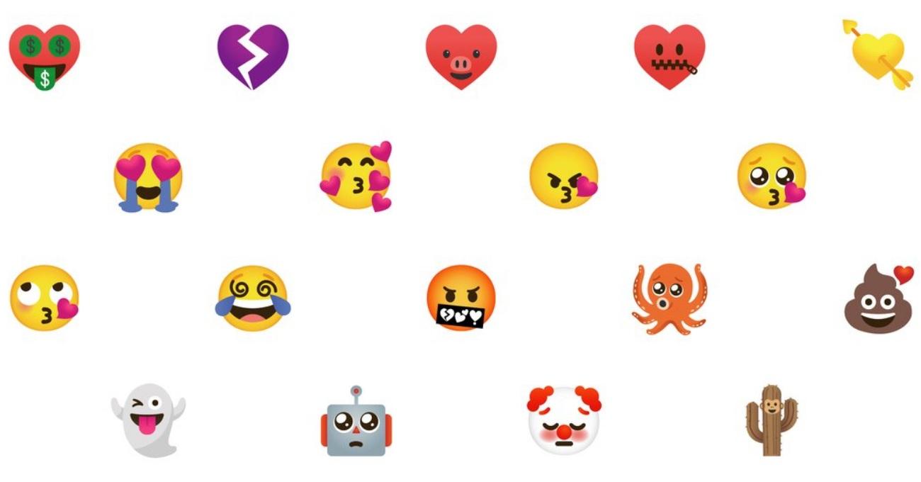 Google'dan Gboard'da Kullanılmak Üzere Karma Emojiler