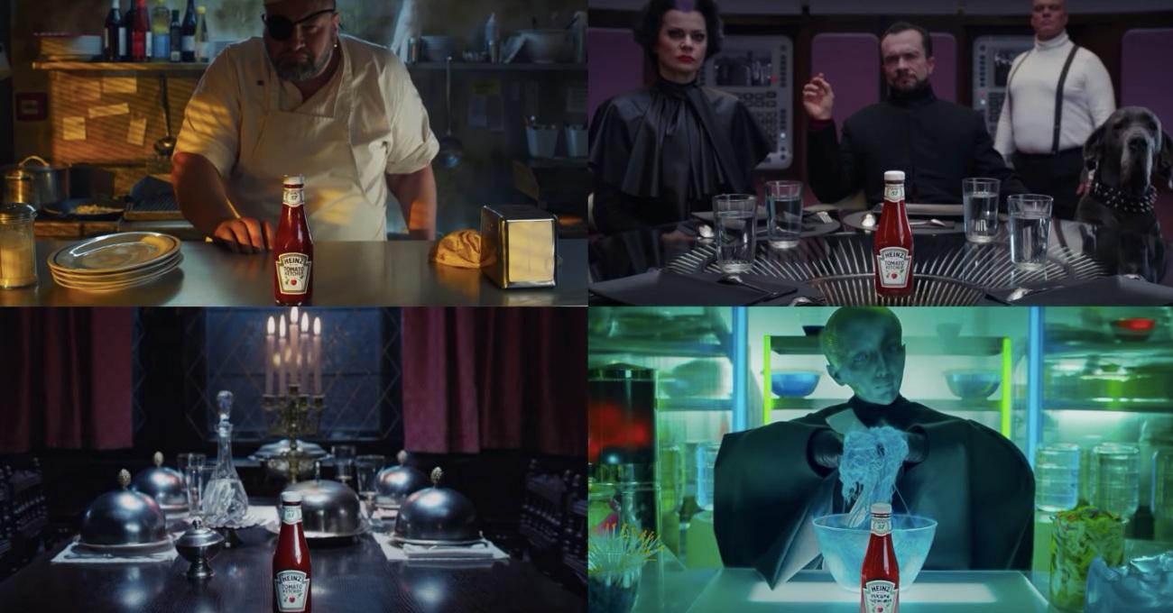 Heinz'dan Tek Gösterimde Dört Farklı Reklam