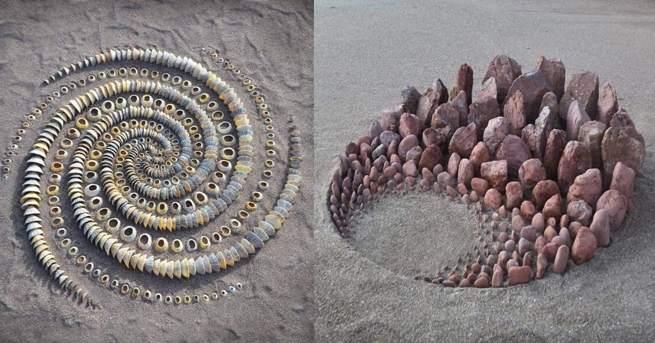 Kumsalda Arazi Sanatı
