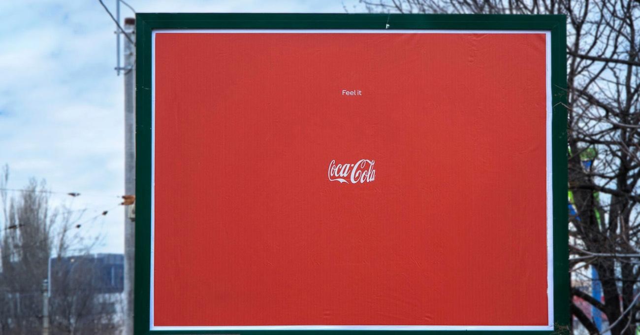 Coca-Cola Şişesini Görmeseniz de Orda Olduğunu Biliyorsunuz