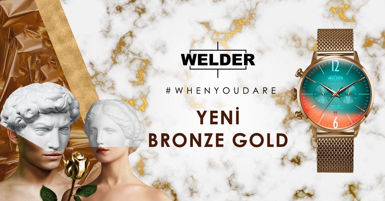 Welder Watch'tan Sevgililer Günü'ne Özel Model: Bronze Gold