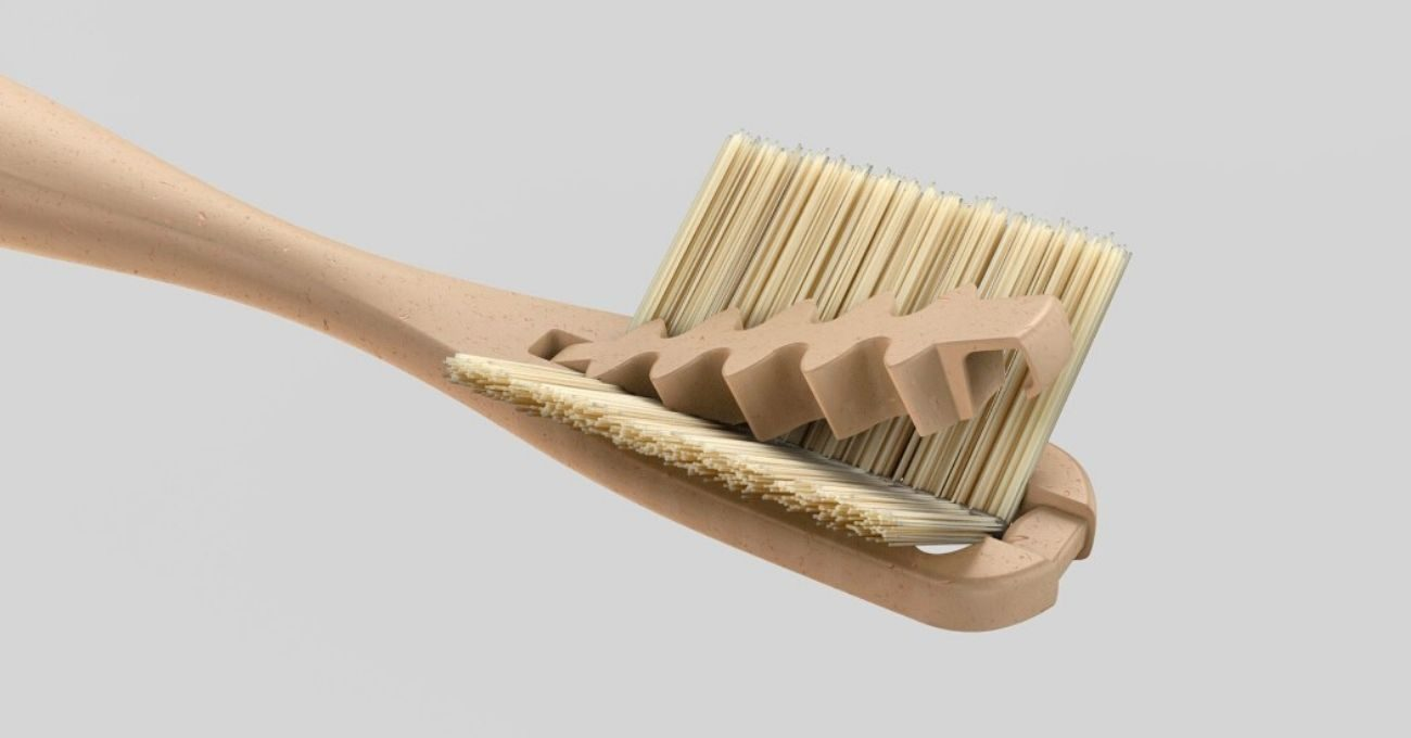 Ucu Değiştirilebilen Bambu Diş Fırçası