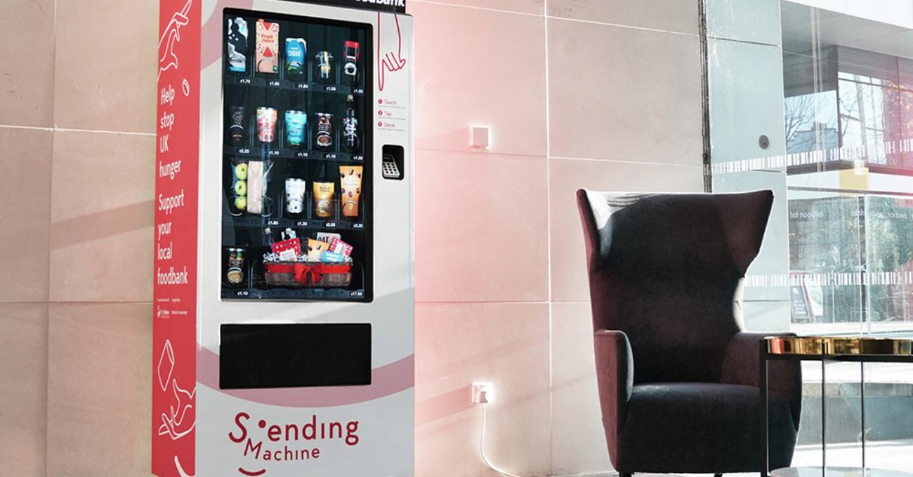 İhtiyacı Olanlara Yiyecek Gönderen Otomat: The Sending Machine [SXSW 2020]