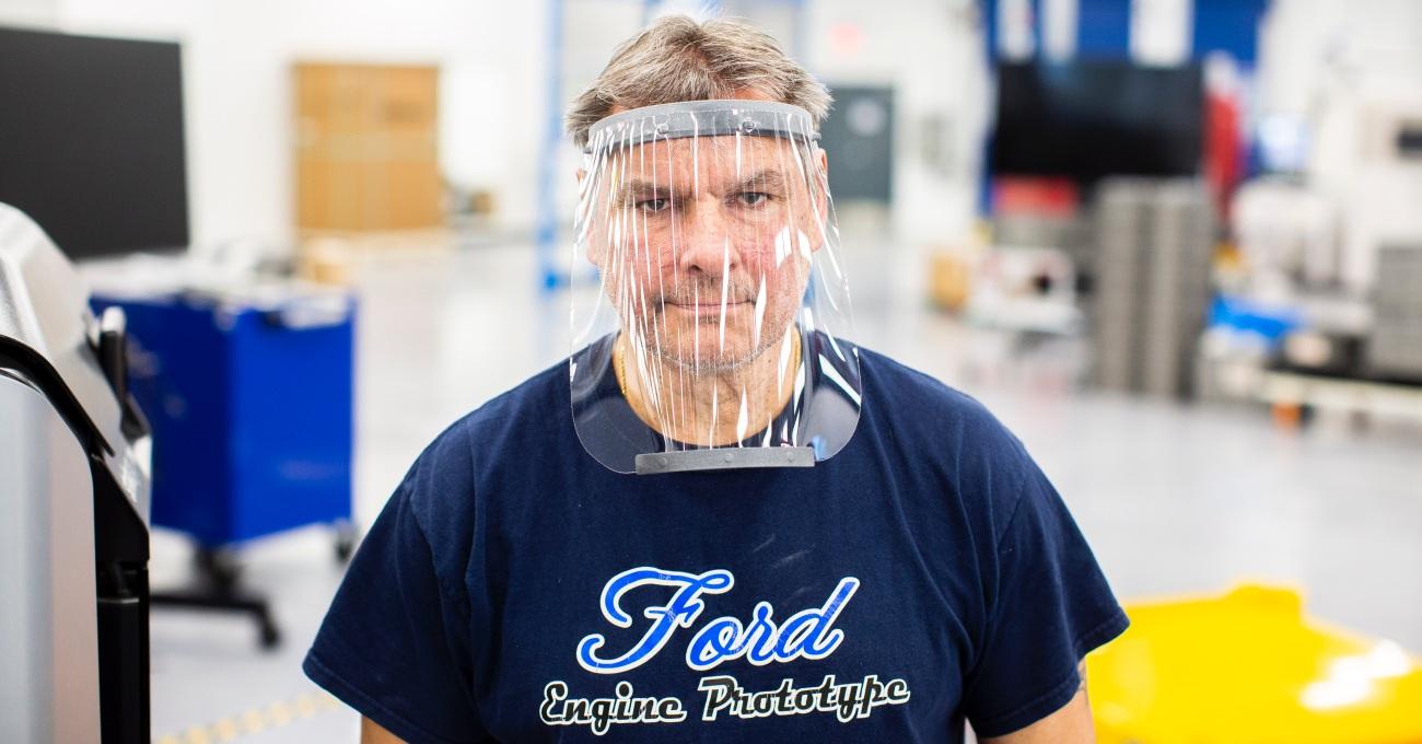 Ford Araçlarındaki Parçaları COVID-19 ile Mücadele için Baştan Tasarladı