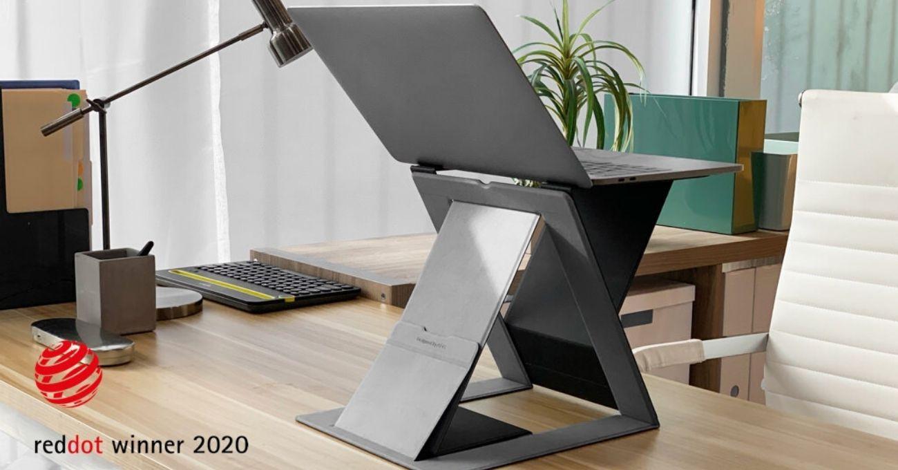 Ayakta Çalışmak için Yüksekliği Ayarlanabilen Laptop Standı