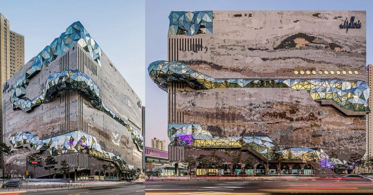 Mozaik Taş Cephesi ve Cam Koridorlarıyla Yeni OMA Tasarımı