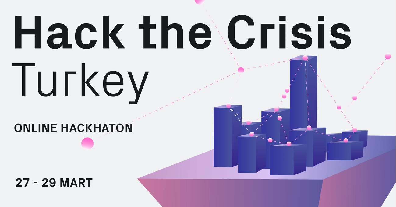 Kriz Ortamında Yaratıcılık için Hack the Crisis Turkey 27-29 Mart'ta