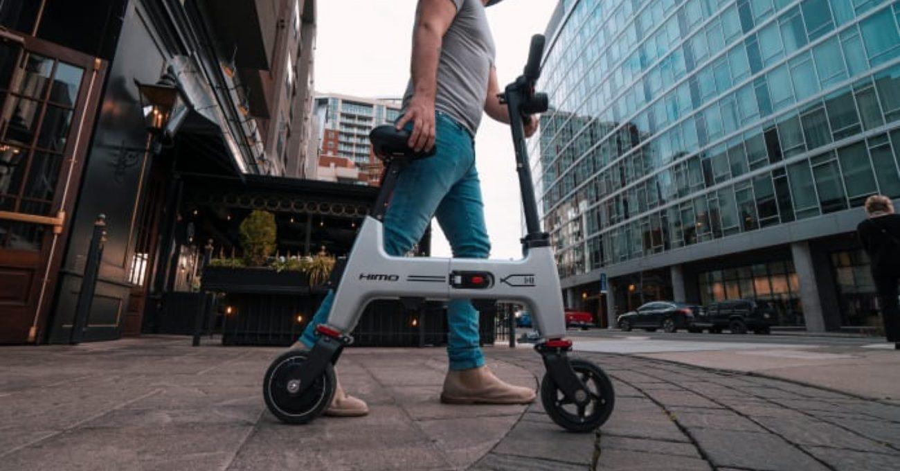 Katlanır Portatif Elektrikli Bisiklet: HiMo H1