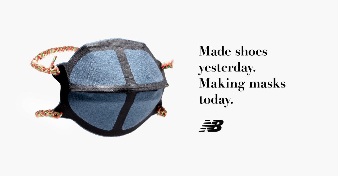 New Balance'tan ABD'deki Maske Üretimine Destek