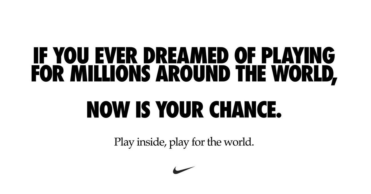 İçeride Oyna, Tüm Dünya için Oyna