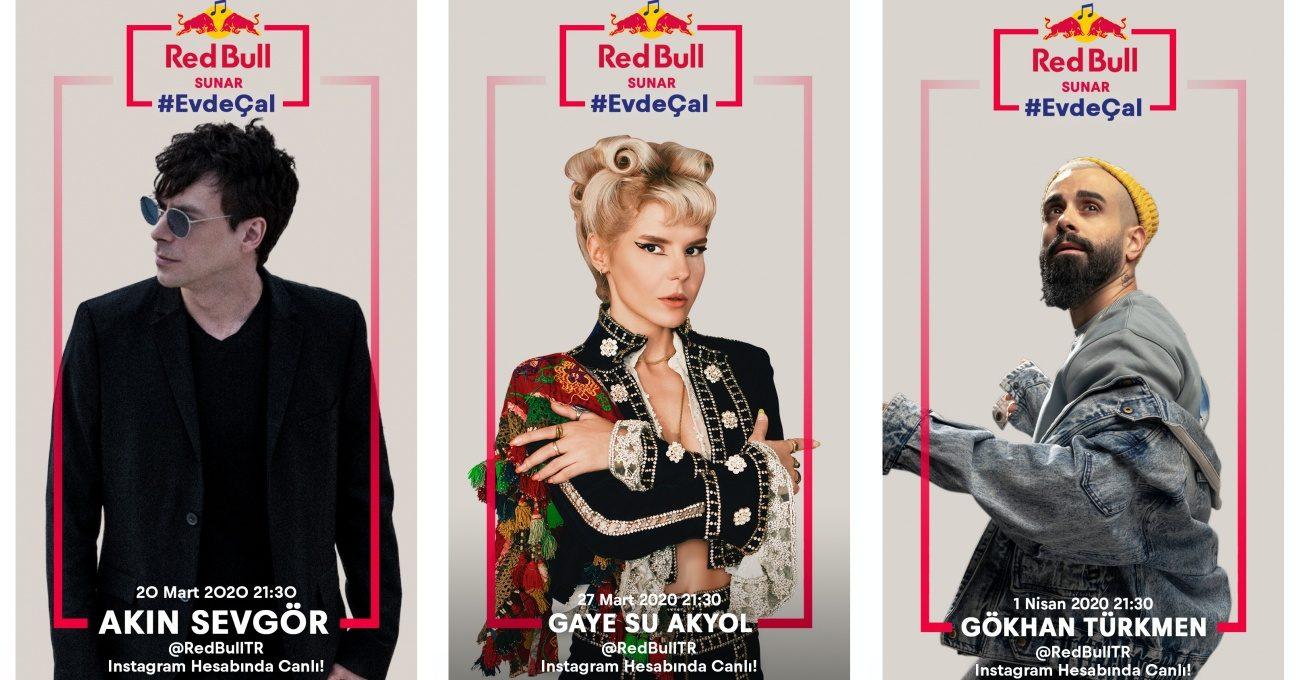 Red Bull Türkiye'den #EvdeÇal Konserleri