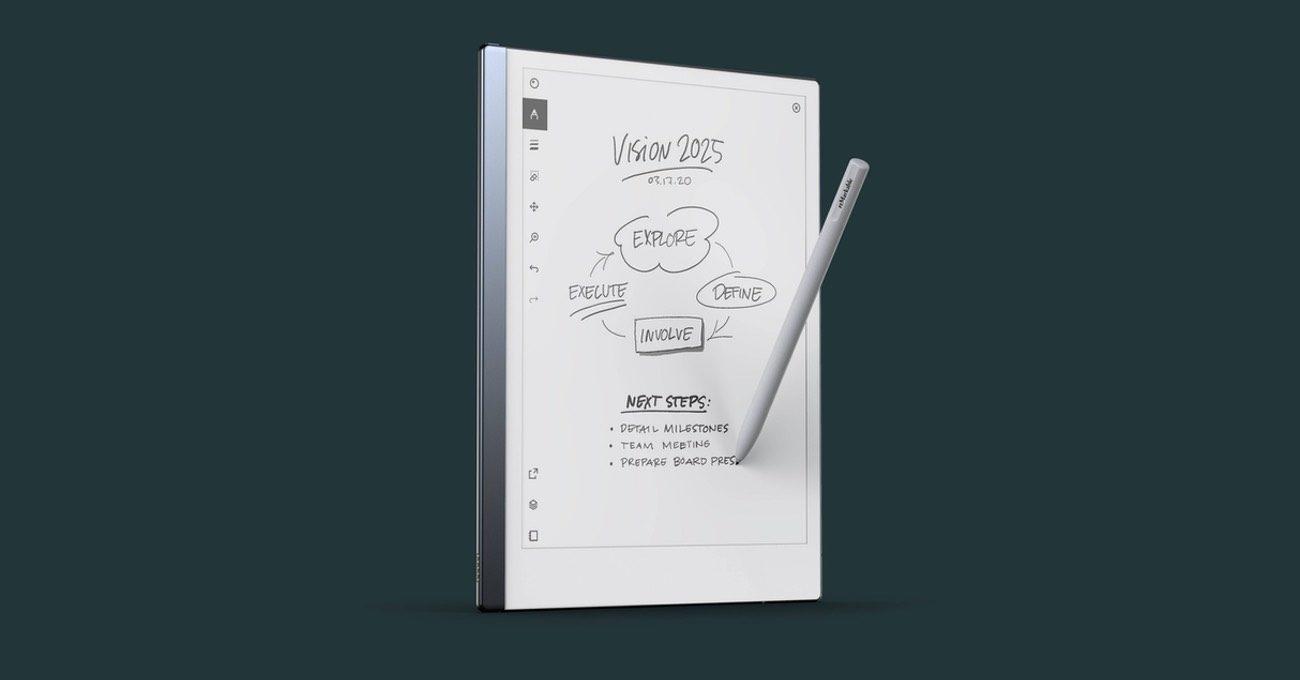 iPad Pro ve Kindle Melezi Bir Tablet: reMarkable 2