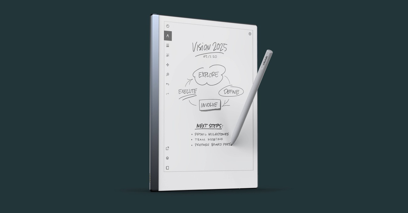 iPad Pro ve Kindle Melezi Bir Tablet: reMarkable 2