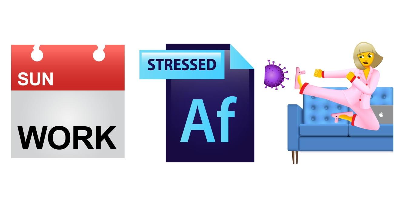 &Walsh'tan Tasarımcılar ve Ev Ofis Çalışanlar için Emojiler