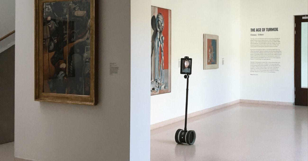 Robotlarla Uzaktan Sanat Galerisi Gezmek