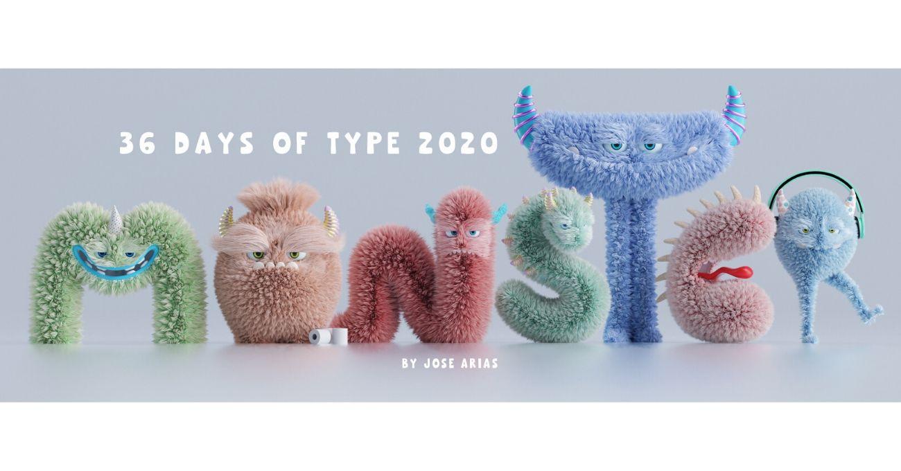 36 Days of Type 2020'nin Tüylü Canavarları