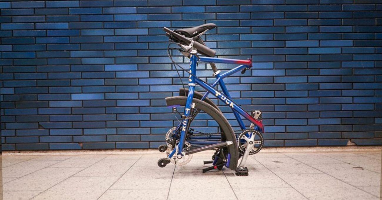 Tekerleri de Katlanabilen Şehir Bisikleti