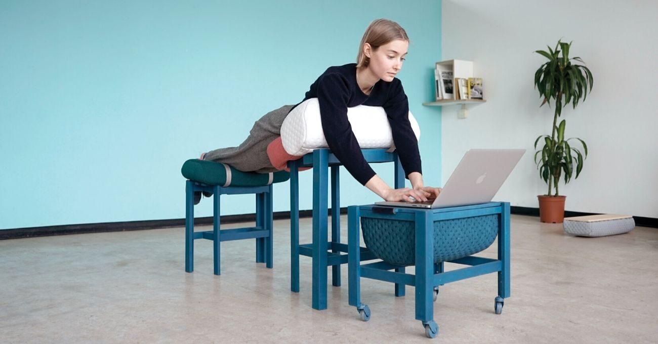 Yatarak Çalışmayı Tercih Edenlere Özel Mobilyalar