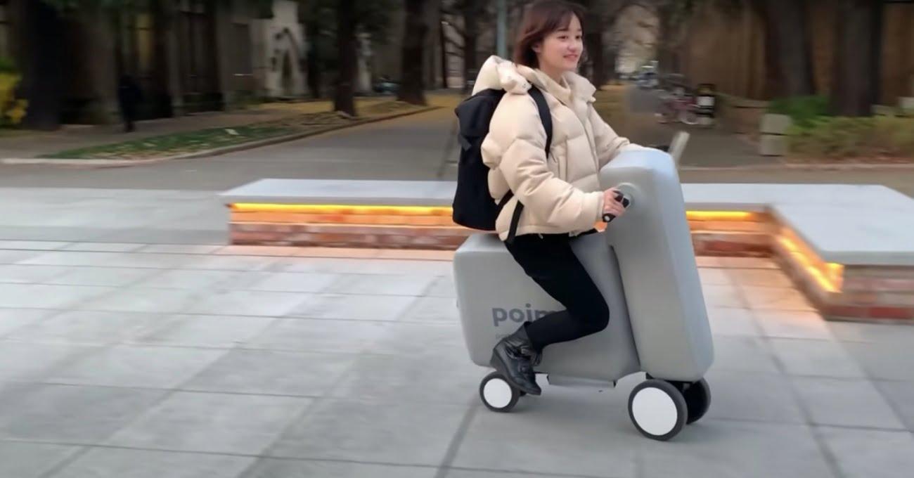 Şişirilebilir Elektrikli Bisiklet: Poimo