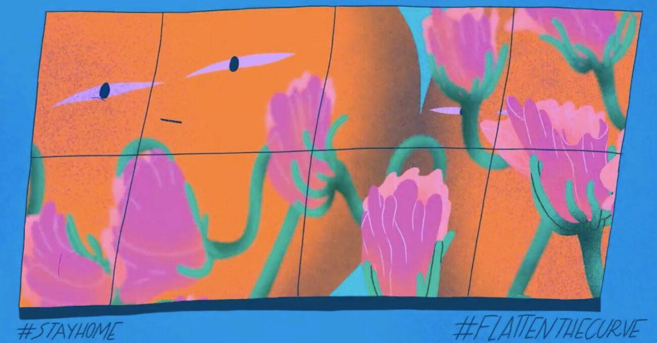 Karantinanın Pozitif Yanlarına Odaklanan Animasyon Serisi