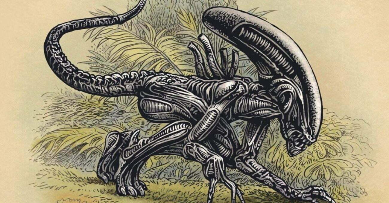 Eski Tip Bilimsel İllüstrasyonlarla Çağdaş Kurgu Karakterler