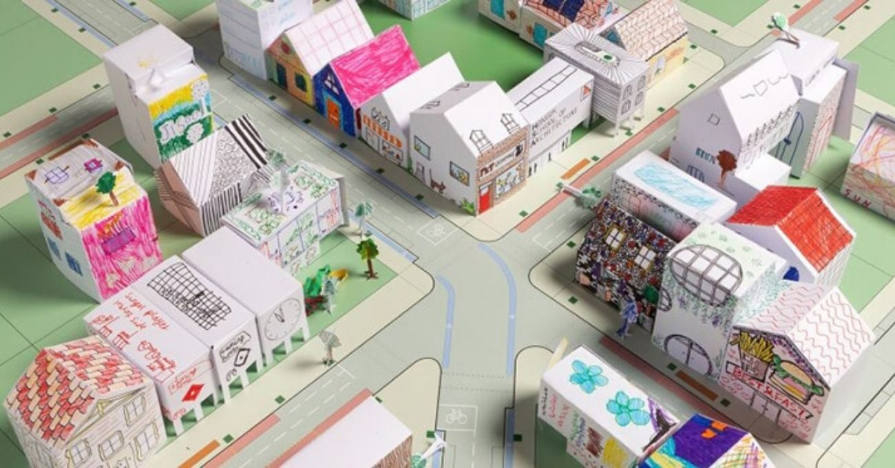 Karantinadaki Çocuklar İçin Evde Mimari Etkinlikleri