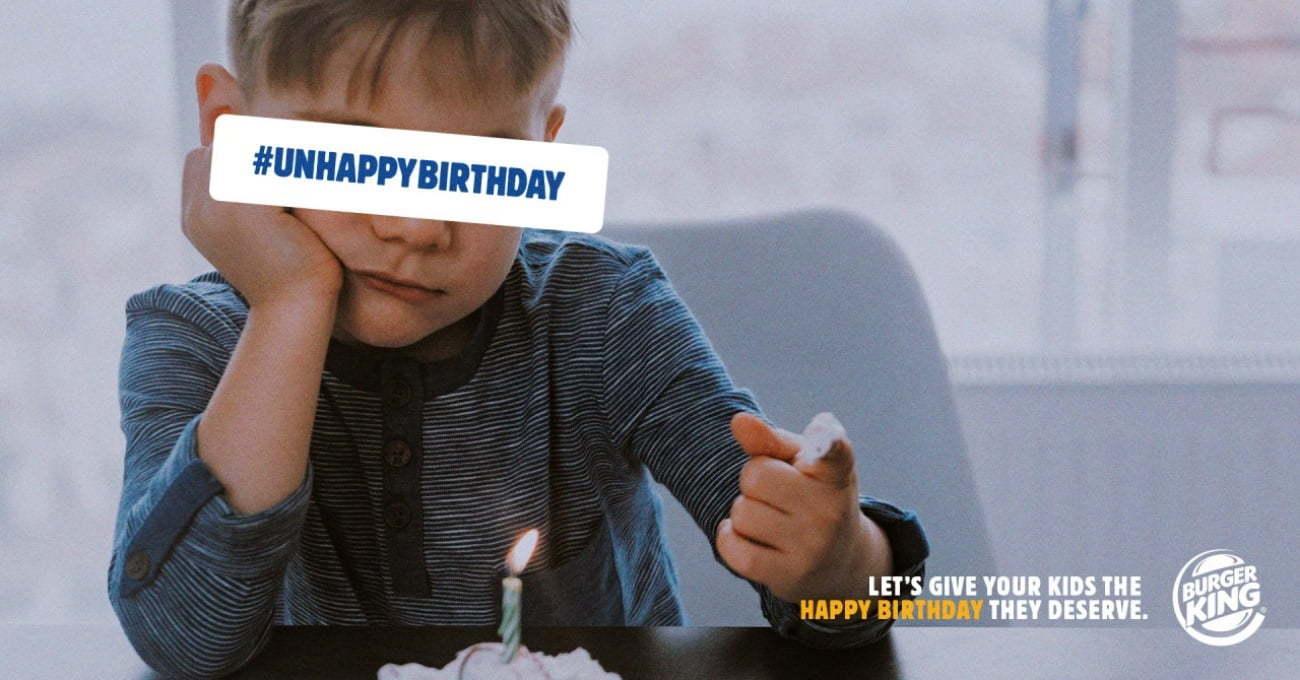 Burger King'ten Mutsuz Doğum Günü Geçiren Çocuklara Parti Müjdesi